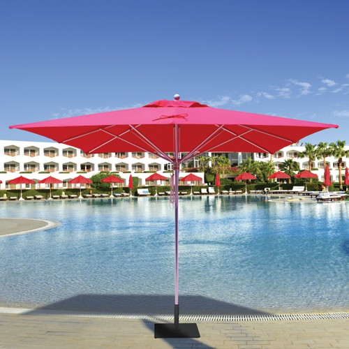 10' Square Commercial Patio Umbrella