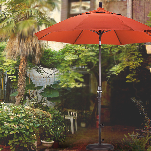 9 foot wind resistant patio umbrella