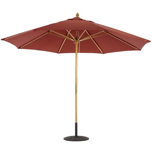 417516c0ed Wood Market Umbrellas | Wood Patio Umbrellas | iPatioumbrella.com