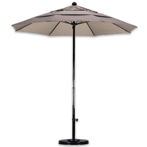 7 foot wind resistant patio umbrellas