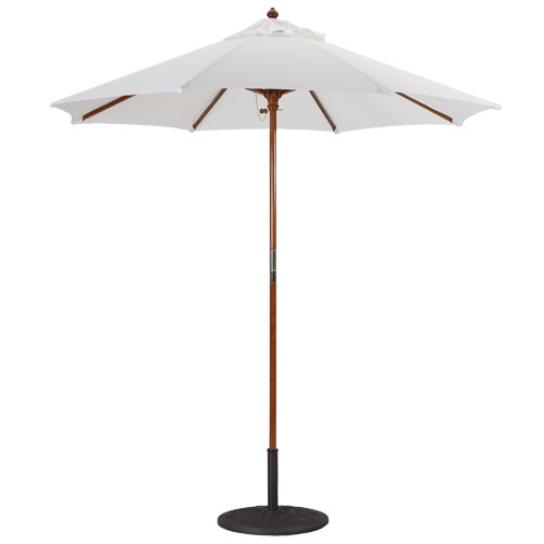 7 foot wood market umbrellas