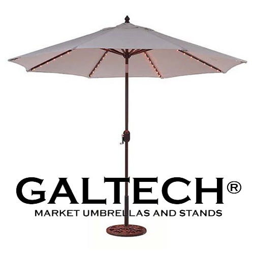 9' Galtech Umbrellas