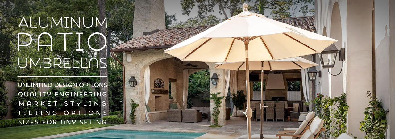 aluminum patio umbrellas