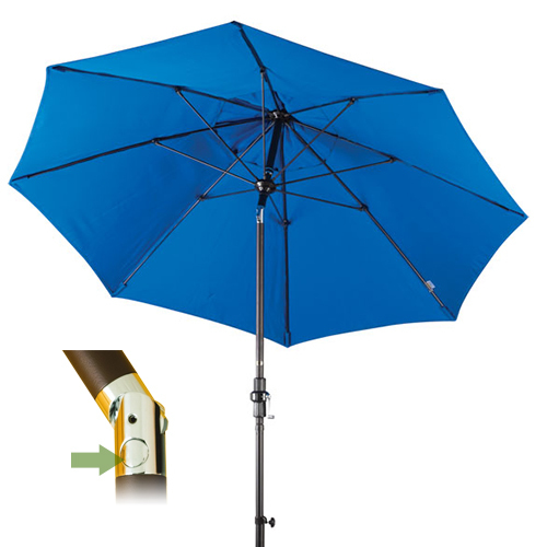 push button tilt patio umbrellas